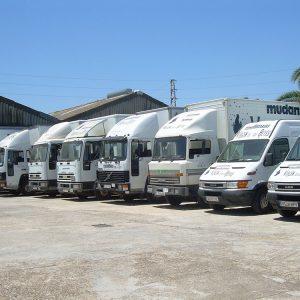 camiones de mudanzas en Sevilla